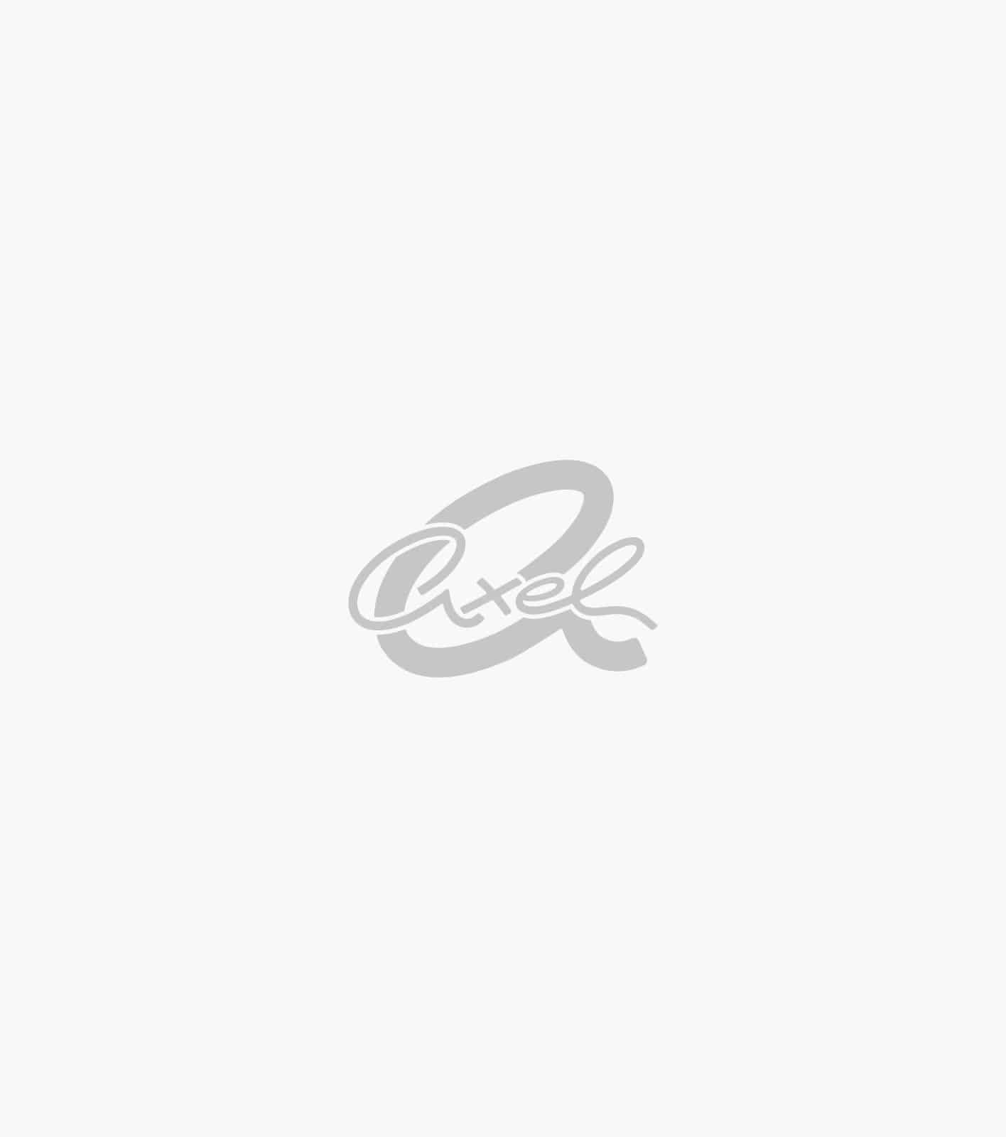 BLOUSE WITH HORSES AND BUTTONS AT SLEEVES